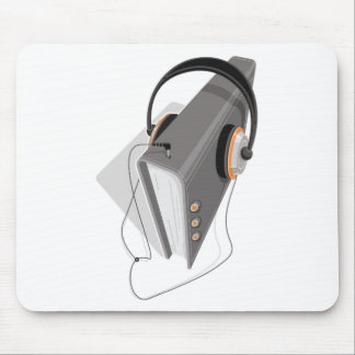 Audiobook Concept Mouse Pad