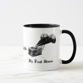 Audiophile - My First Stereo Mug/Cup Mug