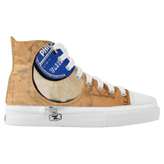 audiophiliacs.com WAG THE DOG high tops Printed Shoes