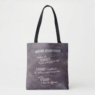 Audition Season Prayer tote bag