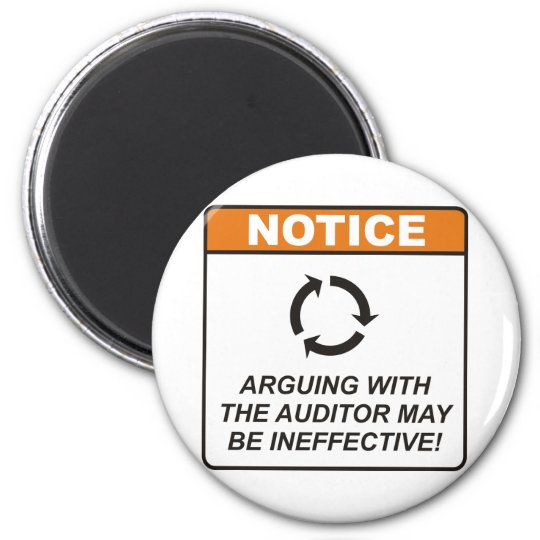 Auditor / Argue Magnet