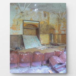 Auditorium 01.0, Lost Places, Beelitz Plaque
