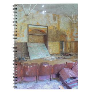Auditorium 01.0, Lost Places, Beelitz Spiral Notebook