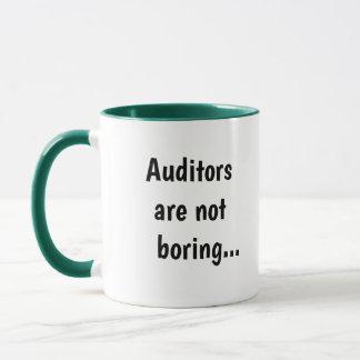 Auditors Not Boring Cruel Funny Auditing Quote Mug
