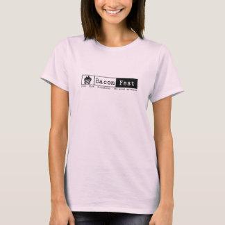 Audra - Short Sleeve Fire Pink L T-Shirt