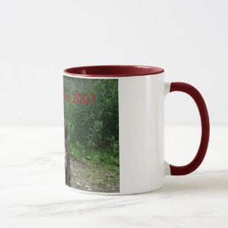 Audrey & Bailey 2007 Coffee Mug
