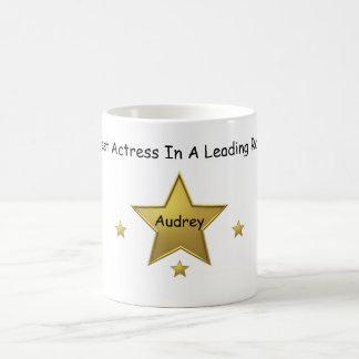 Audrey-Best Actress Basic White Mug