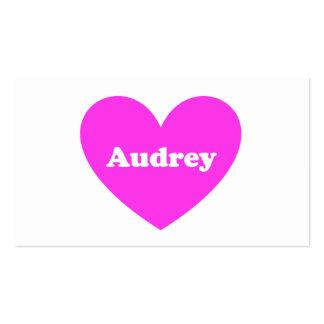 Audrey Business Cards