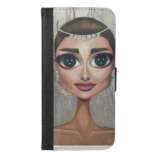 Audrey iPhone 6/6s Plus Wallet Case