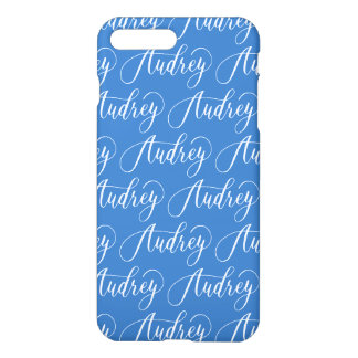Audrey - Modern Calligraphy Name Design iPhone 7 Plus Case