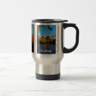 Audrey on Red Rock Crossing Mug