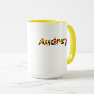 Audrey Two Tones Coffee Mug