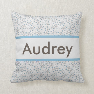 Audrey's Personalized Pillow