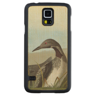 Audubon: Arctic Loon Carved Maple Galaxy S5 Case