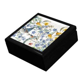 Audubon Bluebird Bird Wildlife Floral Gift Box