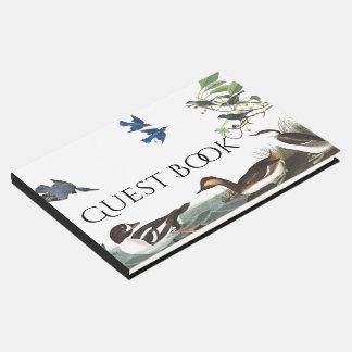 Audubon Collage Birds Wildlife Animal Guest Book