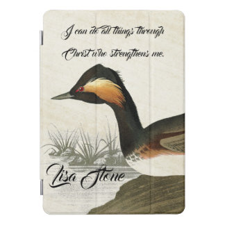 Audubon Grebe Bird Wildlife Bible iPad Pro Case