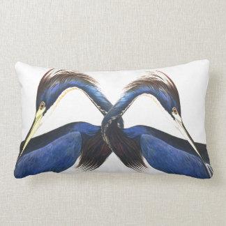 Audubon Heron Birds Wildlife Lumbar Pillow