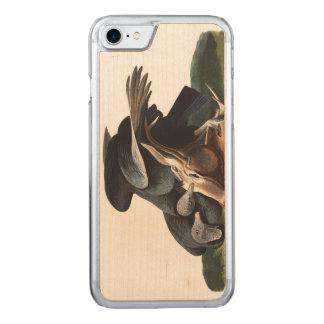 Audubon Plate 106 Black Vulture Carved iPhone 8/7 Case