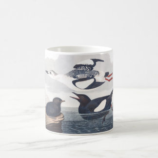 Audubon Plate 219 Black Guillemot Coffee Mug