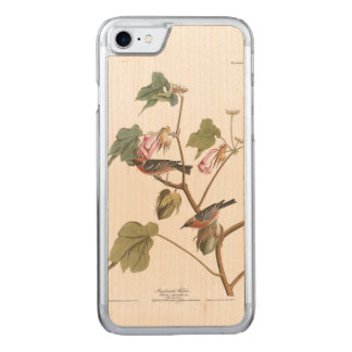 Audubon Plate 69 Bay-Breasted Warbler Carved iPhone 7 Case