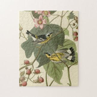 Audubon's Magnolia Warbler Jigsaw Puzzle