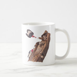 Audubon's Red Headed woodpeckers Coffee Mug