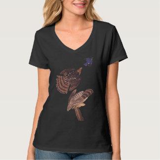 Audubon's Stanley's Hawk or Cooper's Hawk T-Shirt