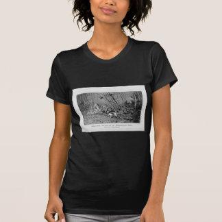 Auf Leben und Tod (Edelhirsche in der Brunft) by R T-Shirt