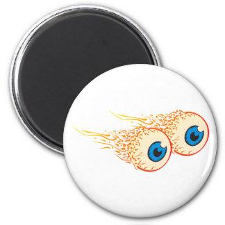 Augäpfel eyeballs kühlschrankmagnete