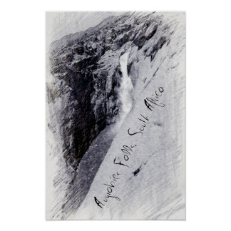 Augrabies Falls, South Africa vintage photo Poster