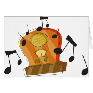 August 20th, National Radio Day Card