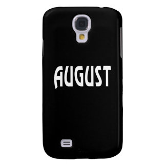 August 2 galaxy s4 covers