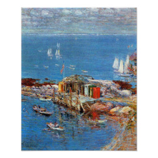 August Afternoon, Appledore by Childe Hassam Poster