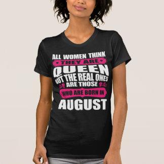 August Birthday Woman T-Shirt