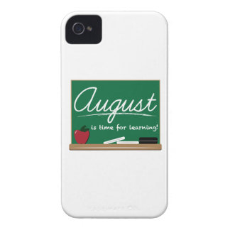 August Learning iPhone 4 Cases