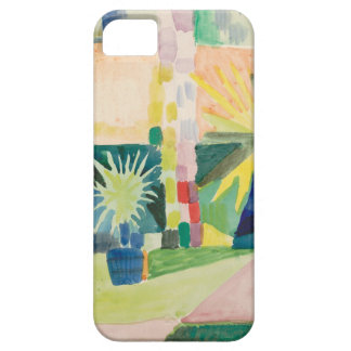 August Macke - Garden on Lake Thun iPhone 5 Case