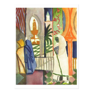 August Macke - In Temple Resounds 1910-1914 Post Cards