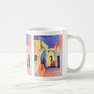 August Macke - View into a Lane Coffee Mug