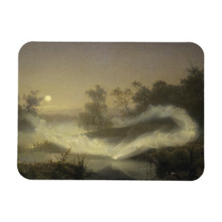 August Malmstrom - Dancing Fairies Magnet