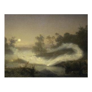 August Malmstrom - Dancing Fairies Postcard