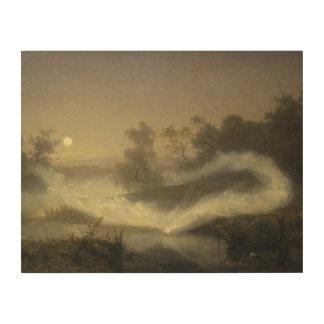 August Malmstrom - Dancing Fairies Wood Wall Art