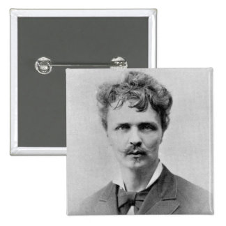 August Strindberg, 1st January, 1884 15 Cm Square Badge