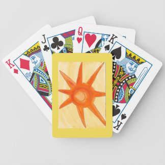 August Sun Playing Cards