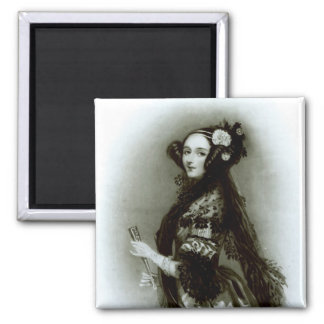 Augusta Ada Byron  Countess of Lovelace Magnet