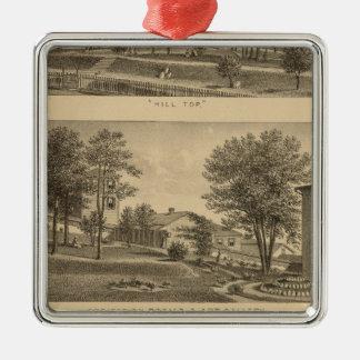 Augusta Female Seminary, Virginia Metal Ornament