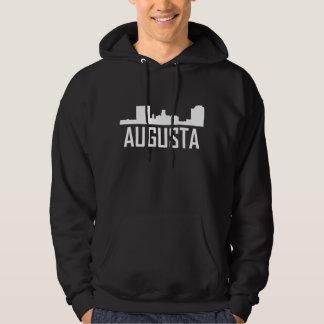 Augusta Georgia City Skyline Hoodie
