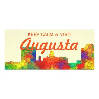Augusta Georgia Skyline-SG Custom Rack Cards