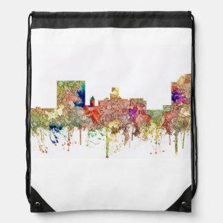 Augusta Georgia Skyline. SG-Faded Glory Drawstring Bag
