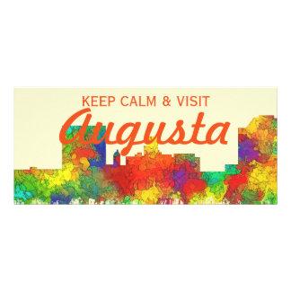 Augusta Georgia Skyline-SG Full Color Rack Card